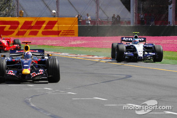 Alexander Wurz, Williams F1 Team, FW29, goes wide