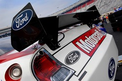 The deck wing on the Motorcraft Ford Fusion Car of Tomorrow