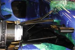 Front Suspension of Honda RA107