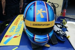 Helmet of Alessandro Pier Guidi