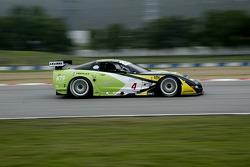 #4 GLPK Carsport Corvette C5R: Anthony Kumpen, Bert Longin