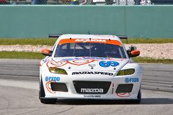 #69 SpeedSource Mazda RX-8: Emil Assentato, Nick Longhi