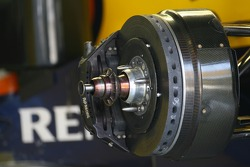 Renault technical front brake disc