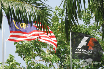 Flags at Sepang
