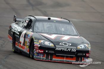 Ward Burton sports a Virginia Tech livery
