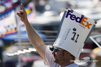 A fan of Denny Hamlin