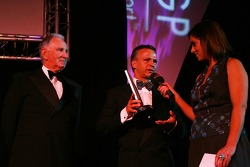 Jan Lammers, Seat Holder of A1Team Netherlands takes the award for the Most devoted Fan Base award