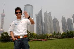 Toni Elias visits Shanghai