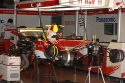 Toyota Racing, TF107