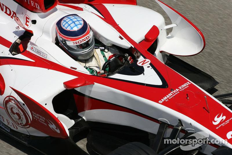 Takuma Sato, Super Aguri F1, SA07