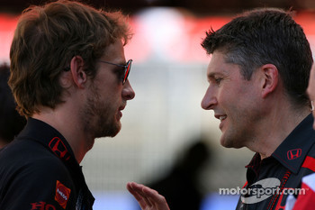 Jenson Button, Honda Racing F1 Team, Nick Fry, Honda Racing F1 Team, Chief Executive Officer