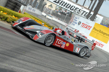 #1 Audi Sport North America Audi R10 TDI Power: Rinaldo Capello, Allan McNish