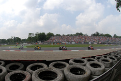 First chicane action