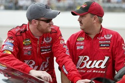 Dale Earnhardt Jr. and crew chief Tony Eury Jr.
