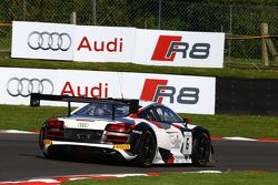 #6 Phoenix Racing Audi R8 LMS: Christopher Haase, Markus Winkelhock