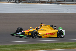 The frankencar of Ryan Hunter-Reay, Andretti Autosport Honda