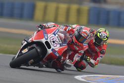 Adrea Dovizioso and Andrea Iannone, Ducati Team