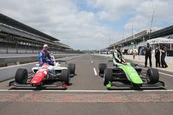 Second placed Jack Harvey, Schmidt Peterson Motorsports and  polesitter Ethan Ringel, Schmidt Peterson Motorsports