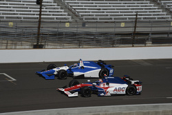 Tristan Vautier, Dale Coyne Racing Honda and Jack Hawksworth, A.J. Foyt Enterprises