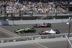 Spencer Pigot, Juncos Racing, Ethan Ringel, Schmidt Peterson Motorsports and Jack Harvey, Schmidt Peterson Motorsports