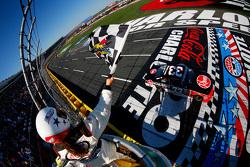 Austin Dillon, Richard Childress Racing Chevrolet takes the win