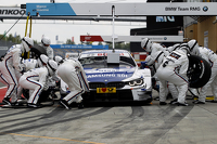 Pitstop, Maxime Martin, BMW Team RMG BMW M4 DTM