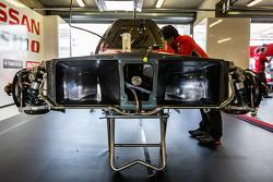 日产车队21号日产GT-R LM NISMO细节