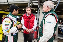 Karun Chandhok and Tom Kristensen