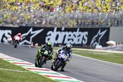 Valentino Rossi, Yamaha Factory Racing and Pol Espargaro, Tech 3 Yamaha