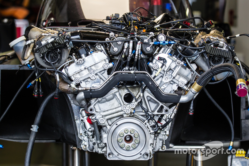 Nissan Motorsports Nissan Gt R Lm Nismo Engine At Le Mans