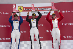 458TPAM Podium: Race winner #8 Ferrari of Fort Lauderdale Ferrari 458, second place #13 Ferrari of Ontario Ferrari 458: Marc Muzzo, and third placed #71 Ferrari of Quebec Ferrari 458: Patrice Brisebois