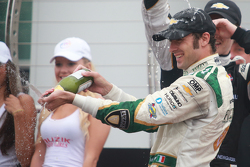 Podium: Second place Luca Filippi, CFH Racing Chevrolet