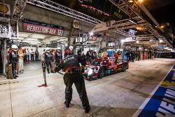 Pit stop for #13 Rebellion Racing Rebellion R-One: Dominik Kraihamer, Daniel Abt, Alexandre Imperatori