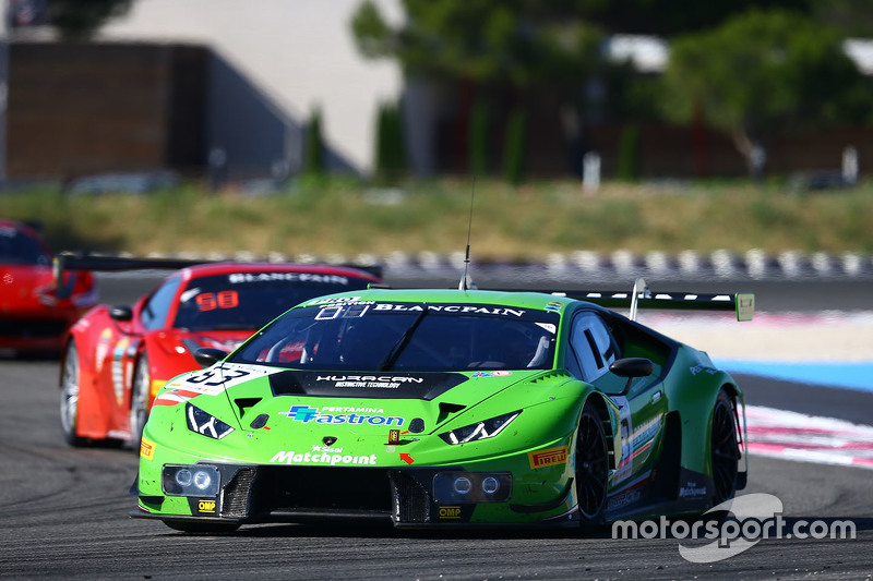 63 grt grasser racing team lamborghini huracan gt3 giovanni venturini adrian zaugg mirko. Black Bedroom Furniture Sets. Home Design Ideas