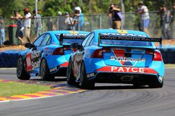 Scott McLaughlin, Garry Rogers Motorsport Volvo and David Wall, Garry Rogers Motorsport Volvo