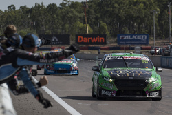 David Reynolds, Rod Nash Racing Ford takes the win