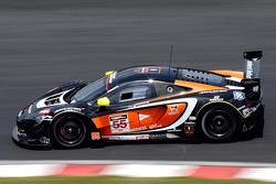 #55 FFF Racing McLaren 650S GT3: Vitantonio Liuzzi, Hiroshi Hamaguchi
