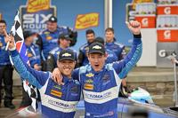 Race winners #90 VisitFlorida.com Racing Corvette DP: Richard Westbrook, Michael Valiante