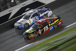 David Ragan, Michael Waltrip Racing Toyota and Clint Bowyer, Michael Waltrip Racing Toyota