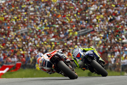 Valentino Rossi, Yamaha Factory Racing and Dani Pedrosa, Repsol Honda Team