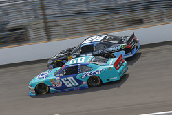 Chris Buescher, Roush Fenway Racing Ford and J.J. Yeley
