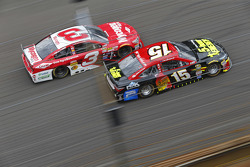 Austin Dillon, Richard Childress Racing Chevrolet and Clint Bowyer, Michael Waltrip Racing Toyota