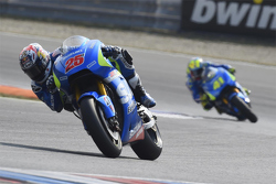 Maverick Viñales and Aleix Espargaro, Team Suzuki MotoGP