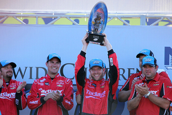 Race winner Regan Smith, JR Motorsports Chevrolet