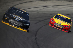 Brad Keselowski, Team Penske Ford and Joey Logano, Team Penske Ford