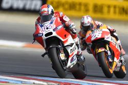 Andrea Dovizioso, Ducati Team and Dani Pedrosa, Repsol Honda Team