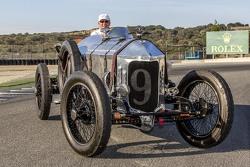 Spirit of Monterey winner Dick Deluna 9, 1917 Hall-Scott The Four-A-7A