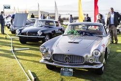 Bob & Jackie Lederer. 1961 Maserati 3500 GT Touring Coupe