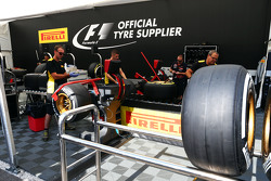 Técnicos da Pirelli