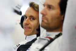 Timo Bernhard and Mark Webber, Porsche Team